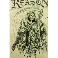 リーズンクロージング REASON CLOTHING Reaper Tee ショートスリーブTシャツ BEIGE ベージュ S/S T-SHIRTS Mサイズ