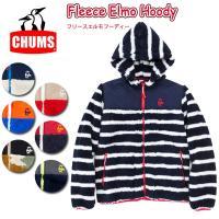 ch04-1010 【CHUMS/チャムス】Fleece Elmo Hoody/フリースエルモフーデ...