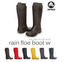 ブランド:CROCS/クロックス 商品:W RAIN FLOE BOOT レインフロー ブーツ サイ...