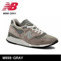 ニューバランス new balance M998-GRAY M998 GRAY メンズ 【靴】 スニ...