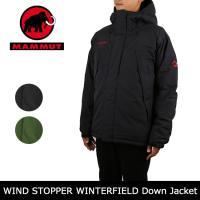MAMMUT/マムート WINDSTOPPER WINTERFIELD Down Jacket  1...