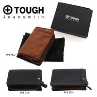 tough-001【TOUGH/タフ】二つ折り財布  LEATHER WASH レザーウォッシュ/5...