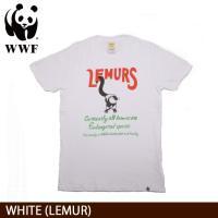 WWF/世界自然保護基金 Tシャツ S/S TEE WWF/WHITE (LEMUR)