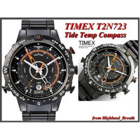 ■Timex タイメックス  T2N723 ●カレンダー ●潮位表示 ●気温(F/℃) ●方位表示 ...