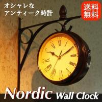 ・アンティーク風でオシャレな壁掛時計。 ・重厚感があり、レトロで程よい色合いが、味わい深い商品です。...