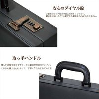 父の日 A3 アタッシュケース メンズ 日本製 【送料無料】大容量 資料収納 多機能 ビジネス フェイクレザーアタッシュケース ハードタイプ A3