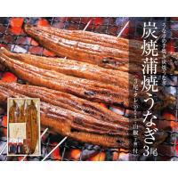 うな亭の鰻(うなぎ)−炭焼蒲焼き鰻3尾