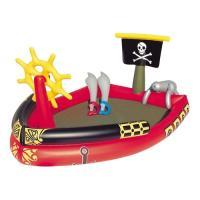 1.家庭で本格水遊びが楽しめる 2.海賊船のプールで海賊気分を満喫! 3.電動空気ポンプでの空気入れ...