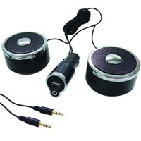 「X-108」は、AUXで簡単接続! 車内で音質のいい音楽が楽しめるステレオ採用スピーカーです。 付...