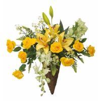 光触媒 光の楽園フランシスローズ 壁掛けタイプアートフラワー(造花)