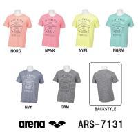 ARS-7131 ARENA(アリーナ) マーブルドライニット Tシャツ スイミング/水泳/アパレル...