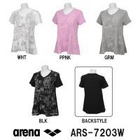 ARS-7203W ARENA(アリーナ) T/C天竺 レディースAラインTシャツ スイミング/水泳...