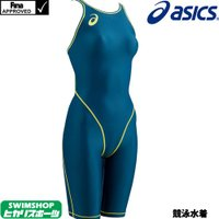 ASL102 asics(アシックス) レディース競泳水着 SPURTeX 競泳水着/女性用/ハーフ...