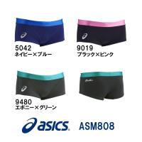 ASM808 asics(アシックス) メンズ競泳練習水着 REPEATEX2 POWER SUIT...