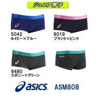 ASM808 asics(アシックス) ジュニア男子競泳練習水着 REPEATEX2 POWER S...