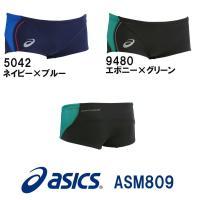 ASM809 asics(アシックス) メンズ競泳練習水着 REPEATEX2 EVOCHARGE ...