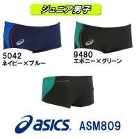 ASM809 asics(アシックス) ジュニア男子競泳練習水着 REPEATEX2 EVOCHAR...