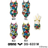 DIS-6351W ARENA(アリーナ) レディース競泳練習水着 タフスーツ タフスキンD スーパ...