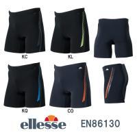 EN86130 ellesse(エレッセ) メンズフィットネス水着 エンデュランスJ ボックス3分丈...