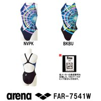 FAR-7541W ARENA(アリーナ) レディース競泳水着 X-PYTHON2 リミック(クロス...
