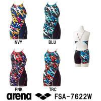 FSA-7622W ARENA(アリーナ) レディース競泳練習水着 タフスーツ タフスキンD タフ・...