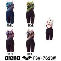FSA-7623W ARENA(アリーナ) レディース競泳練習水着 タフスーツ タフスキンD タフ・...