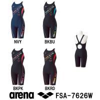 FSA-7626W ARENA(アリーナ) レディース競泳練習水着 タフスーツ タフスキンストレッチ...