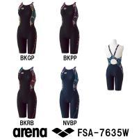 FSA-7635W ARENA(アリーナ) レディース競泳水着  フルダルUV-WR セイフリーバッ...