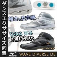 K1GF1674 MIZUNO(ミズノ)スタジオエクササイズ用フィットネスシューズ WAVE DIV...