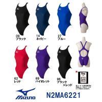 N2MA6221 MIZUNO(ミズノ) レディース競泳用水着 Stream Aqucela ソニッ...