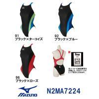 N2MA7224 MIZUNO(ミズノ) レディース競泳水着 Stream Aqucela ソニック...