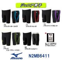 N2MB6411 MIZUNO(ミズノ) ジュニア男子競泳用水着  MX・SONIC02 ソニックラ...