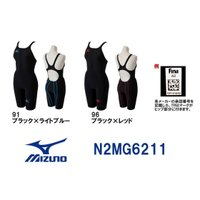 N2MG6211 MIZUNO(ミズノ)レディース競泳用水着  MX・SONIC02 ソニックライト...