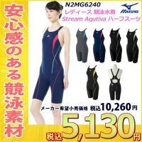 N2MG6240 MIZUNO(ミズノ) レディース競泳用水着 Stream Aqutiva ストリ...