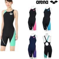送料無料 ORI-0410W ARENA(アリーナ) レディース競泳練習水着 タフスーツ タフスキン...