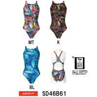 SD46B61 SPEEDO(スピード) レディース競泳水着 FLEX Σ ウイメンズエイムカットス...