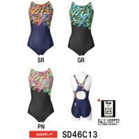 ●●SD46C13 SPEEDO(スピード) レディース競泳水着 FLEX Σ ウイメンズコンフォカ...