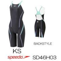 SD46H03 SPEEDO(スピード) レディース競泳水着 FLEX Cube ウイメンズオープン...