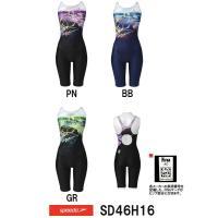 ●●SD46H16 SPEEDO(スピード) レディース競泳水着 FLEX Σ ウイメンズセミオープ...