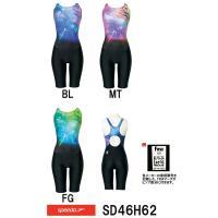 SD46H62 SPEEDO(スピード) レディース競泳水着 FLEX Σ ウイメンズセミオープンバ...
