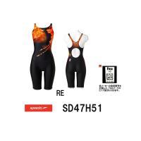 送料無料 SD47H51 SPEEDO(スピード) レディース競泳水着 FLEX Σ ウイメンズセミ...