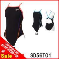 SD56T01 紙箱なし SPEEDO(スピード) レディース競泳練習水着 ENDURANCE J ...