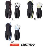 SD57N22 SPEEDO(スピード) レディース競泳水着 FLEX Σ ウイメンズスパッツスーツ...