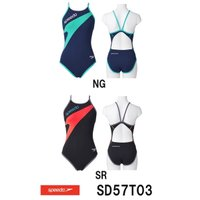 SD57T03 SPEEDO(スピード) レディース競泳練習水着 DREAM TEAM ENDURA...