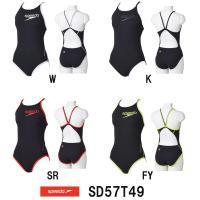 SD57T49 SPEEDO(スピード) レディース競泳練習水着 ENDURANCE J ウイメンズ...