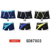 SD87X03 SPEEDO(スピード) メンズ競泳練習水着 DREAM TEAM ENDURANC...