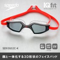 水泳ゴーグル SD93G02C-K SPEEDO(スピード) スイミングゴーグル アクアパルスマック...