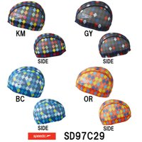 SD97C29 SPEEDO(スピード) メッシュキャップ 水泳帽/スイムキャップ/スイミング/プー...