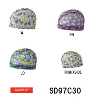 SD97C30 SPEEDO(スピード) メッシュキャップ 水泳帽/スイムキャップ/スイミング/プー...