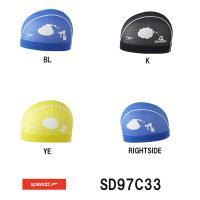 SD97C33 SPEEDO(スピード) メッシュキャップ 水泳帽/スイムキャップ/スイミング/プー...
